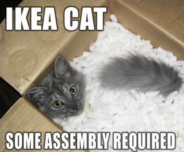 21 Social Situations Explained Via Ikea Instructions Ikea